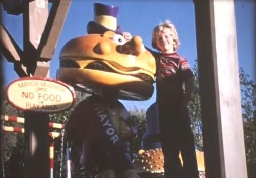 Hangin' with Mayor McCheese. ('McDonald's Setmakers,' 1972)
