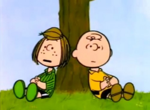 Peppermint Patty and Chuck discuss the merits of Arbor Day. (1976)