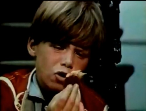 'You got chocolate in my peanut butter!' (Reese's commercial, 1972)