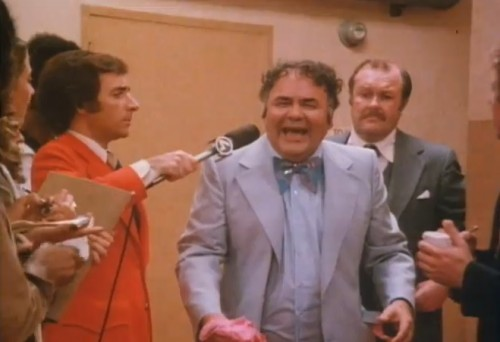 Harry Shearer, Jonathan Winters and M. Emmet Walsh in 'The Fish That Saved Pittsburgh' (1979)