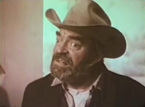 Jack Elam is Zack Wheeler in 'The Texas Wheelers,' 1974