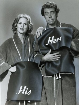 Sharon Gless and John Schuck in 'Turnabout.'  (NBC promo photo, 1979)