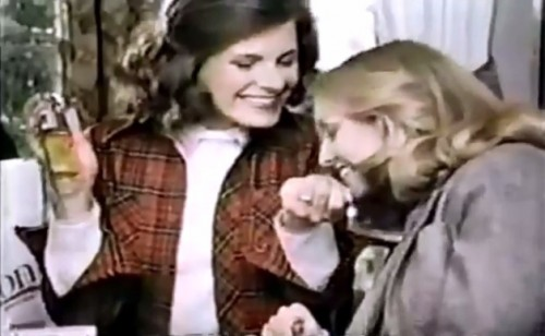Gee, your wrist smells terrific! (Avon commercial, 1978)