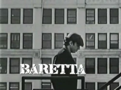 'Baretta' TV title, 1976