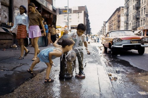 Avenue C, Lower East Side, 1970. (Photo: Camilo José Vergara via Time.com)