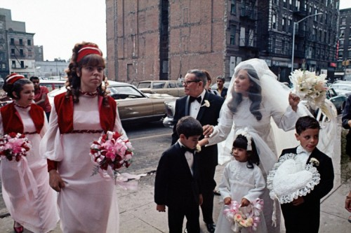 Puerto Rican Wedding, East Harlem, 1970. (Photo: Camilo José Vergara via Time.com)