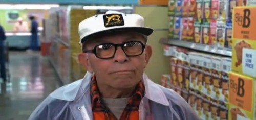 George Burns. God in a plastic raincoat. ('Oh, God,' 1977)