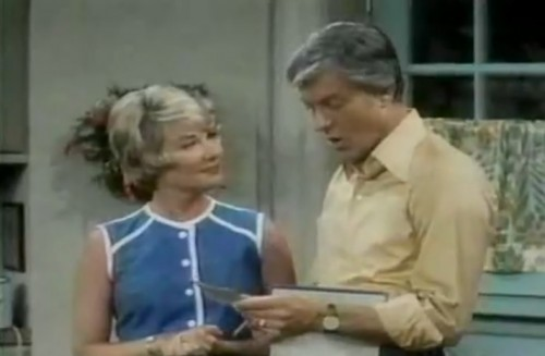 Hope Lange and Dick Van Dyke ('The New Dick Van Dyke Show,' 1972)
