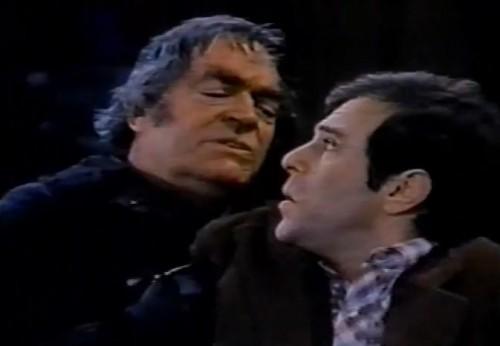 Frank (Jack Elam) and Stein (Jeffrey Kramer) ('Struck by Lightning,' 1979)
