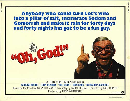 Image result for george burns in oh god