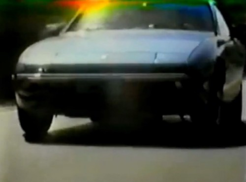 """Who'd ever think that a car that looks like this could get good gas mileage..."" (Porsche 924, 1979)"