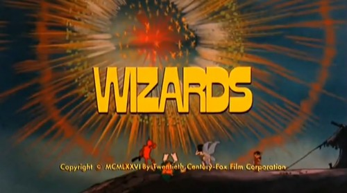 'Wizards' trailer title, 1977