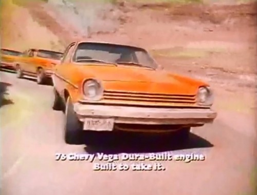 The Chevy Vega could take on Death Valley. Your local highway was another thing entirely.