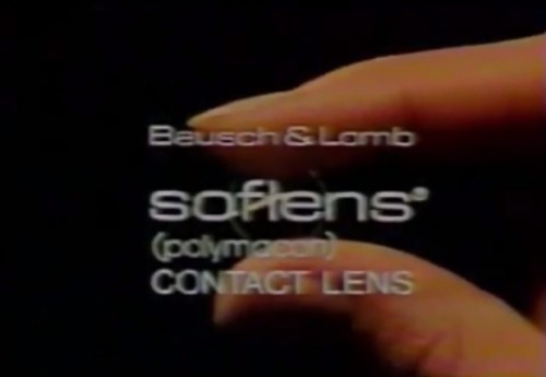 The squishy, bendy lens from Bausch & Lomb (1977)