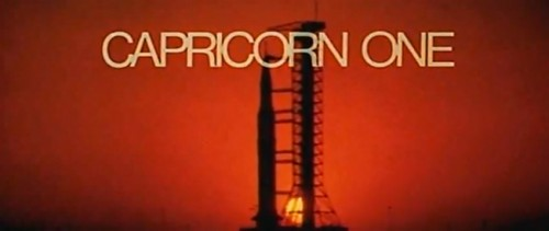 'Capricorn One' trailer title, 1978