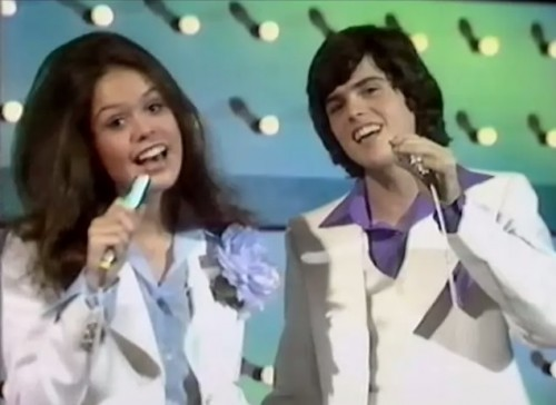 'I've got my heart in my hand...' (Donny & Marie, 1974)
