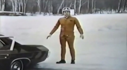 Some of those 70s polyester outfits really went a bit too far (Firestone commercial, 1970)