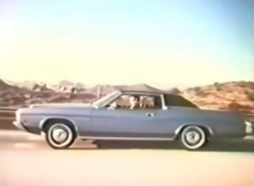 The Ford Galaxie 500 for 1972. Rides smooth - like a starship should.