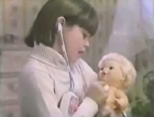 How's she doin', doc? (Baby Heartbeat commercial, 1978)