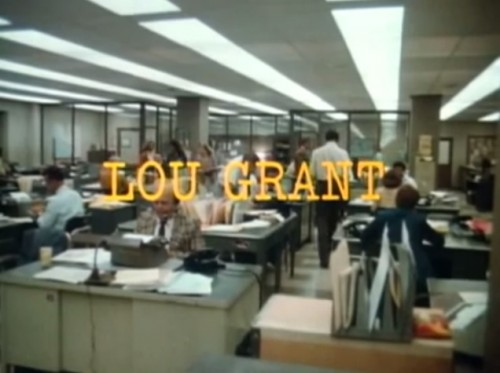 'Lou Grant' TV title, 1977