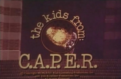 'The Kids from: C.A.P.E.R.' TV title, 1976