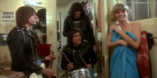 Shower time with The Ramones ('Rock 'n' Roll High School,' 1979)