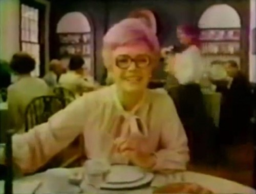 Francine Neff aka 'Ms. Money Sign' (Amex commercial, 1978)