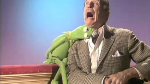 Vincent Price and Kermit the Vampire ('The Muppet Show,' 1977)