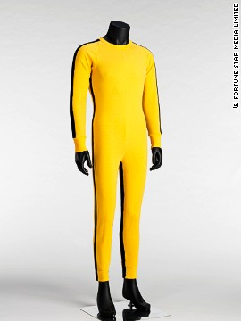 Lee's iconic suit from 'Game of Death,' 1973