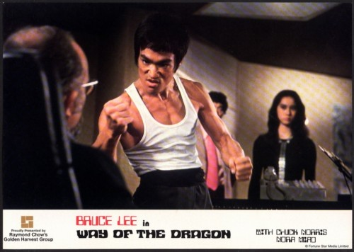 Bruce Lee 'Way of the Dragon' still, 1972