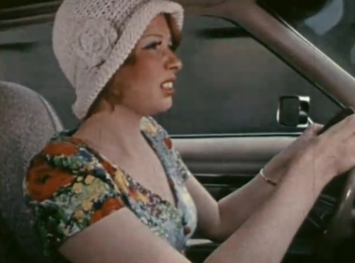 It's Bonnie Parker! Kinda sorta. ('The Crossroads Crash,' 1973)