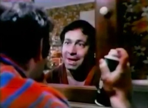 After closer inspection - he shaved his reflection (Edge commercial, 1972)
