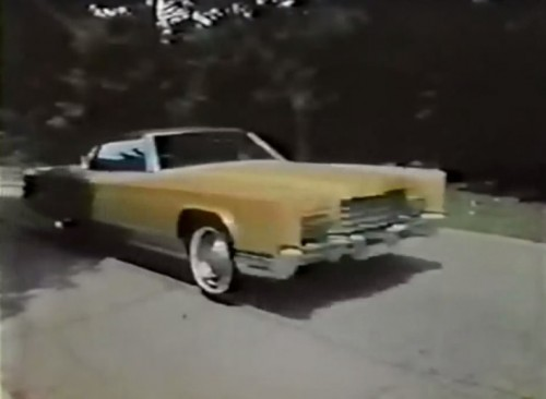 'The new Town Coupe' (Lincoln Continental commercial, 1972)