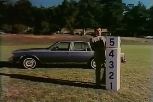 Jerry Orbach stacks up the cubic feet for Chevrolet (1977)