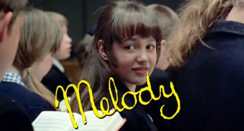 'Melody' trailer title,1970