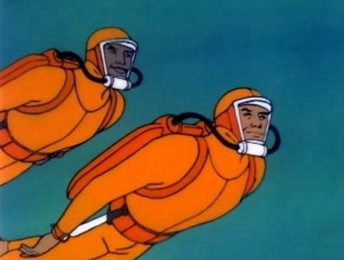Go, go oceanauts! ('Sealab 2020,' 1972)