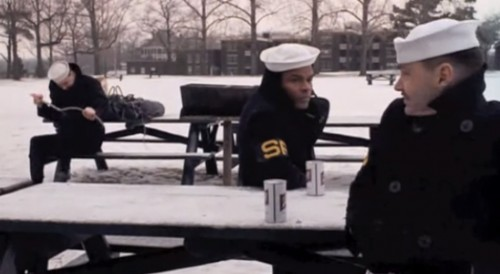 A pleasant picnic in the snow ('The Last Detail,'1973)