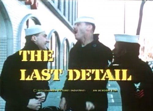 'The Last Detail' trailer title, 1973
