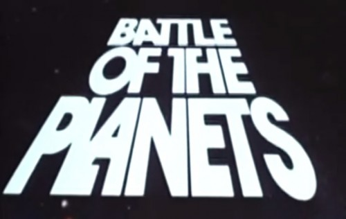 'Battle of the Planets' TV title, 1978