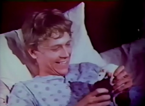 Mom always said 'Don't play with rodents in bed.' (Bruce Davison in 'Willard,' 1971)
