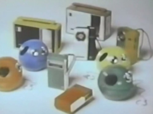 Radios in 'crazy shapes and colors...' (Panasonic commercial, 1972)