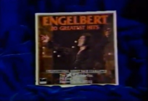 Only crushed velvet is good enough to caress this L.P. (Engelbert Humperdinck commercial, 1977)