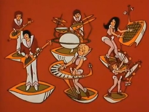 Hey, it's kinda sorta The Partridge Family...in space! ('Partridge Family 2200 A.D.', 1974)