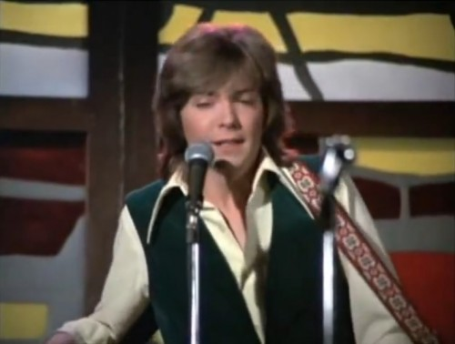 """""""I'm a man of my word..."""" (David Cassidy, 'The Partridge Family,' 1970)"""