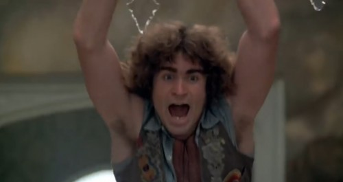 Treat Williams is a real swinger in 'Hair,' 1979