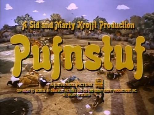 'Pufnstuf' trailer title, 1970