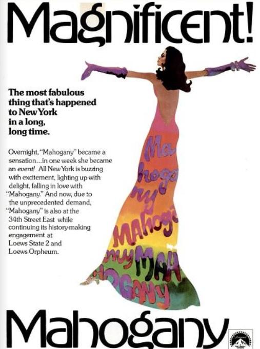 Diana Ross In 'Mahogany.' ('New York' magazine, November 03, 1975)