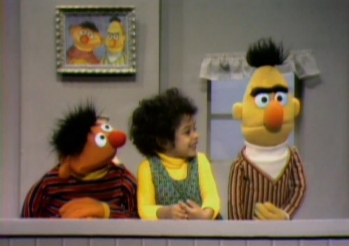 Funshine Friday Sesame Street Ernie Bert Emotions