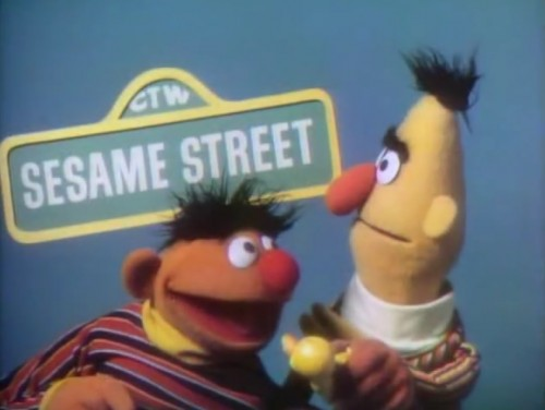 ''Sesame Street' has been brought to you today by the letter F and by the number 11...' ('Sesame Street' end credits, 1970-71)