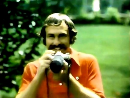 Australian tennis champ, John Newcombe for the Canon AE-1, 1978.